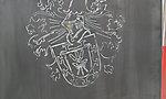Wappen aus Corten