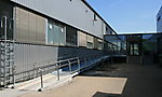 Behindertenrampe Verwaltungsgebäude Loreal, Karlsruhe