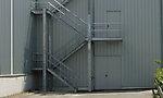 Treppenturm an Industriehalle Fa. Neff, Bretten