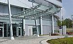 Vordach Haupteingang Infineon, Dresden